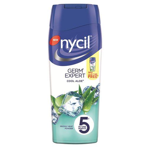 Nycil Cool Aloe Prickly Heat Powder 50 Gm