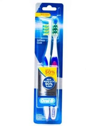 Oral-B Pro Health Gum Care Medium Toothbrush 2 Pc