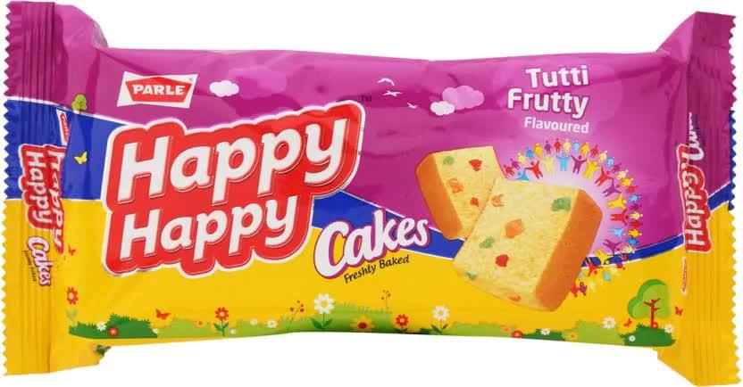 Parle Happy Happy Vanilla Cake