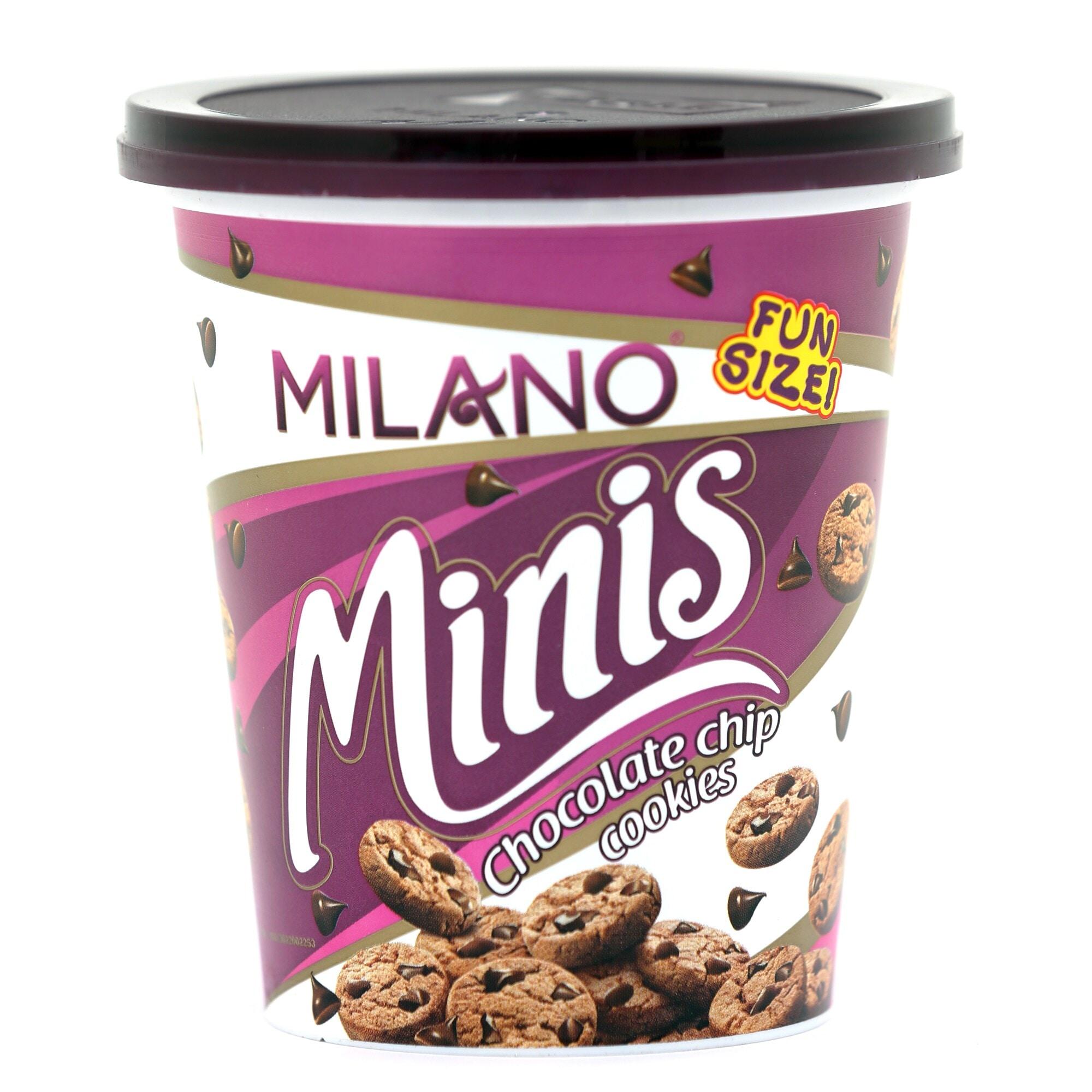 Parle Milano Minis Chocolate Chip Cookies 100 Gm