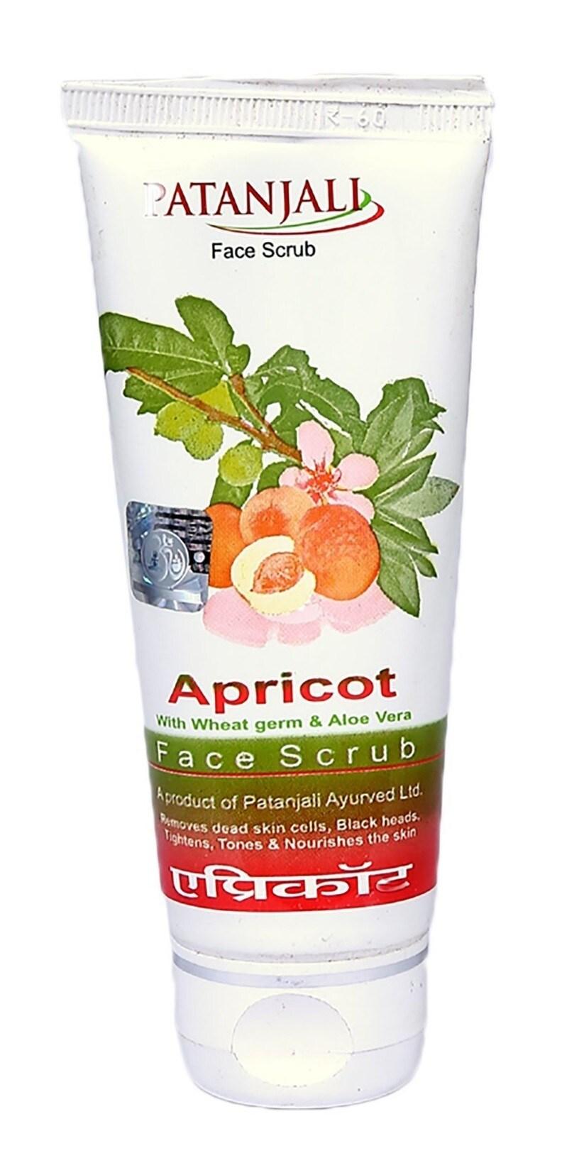 Patanjali Apricot Face Scrub