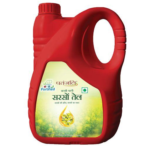 Patanjali Fortified Mustard Oil (Jar)