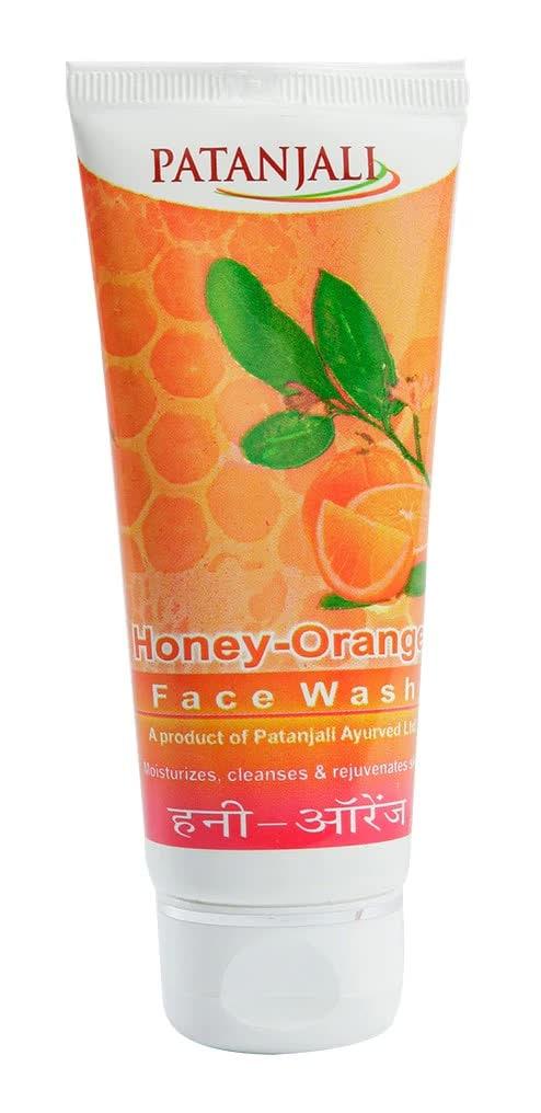 Patanjali Honey Orange Face Wash 60 Gm