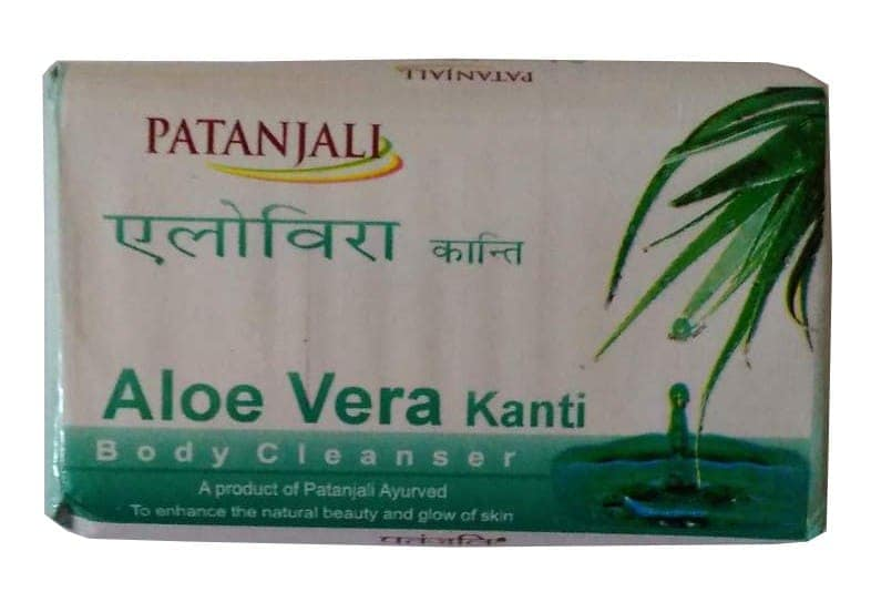 Patanjali Kanti Aloevera Body Cleanser Soap 75 Gm