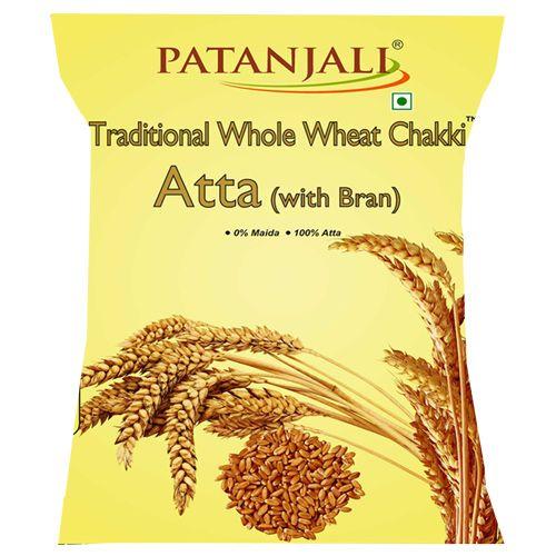 Patanjali Whole Wheat Traditional With Bran Chakki Atta