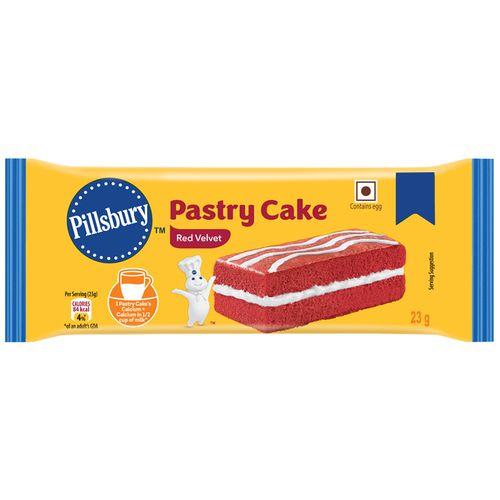 Pillsbury Redvelvet Pastry Cake