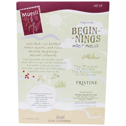 PRISTINE Beginnings Organic Millet Muesli