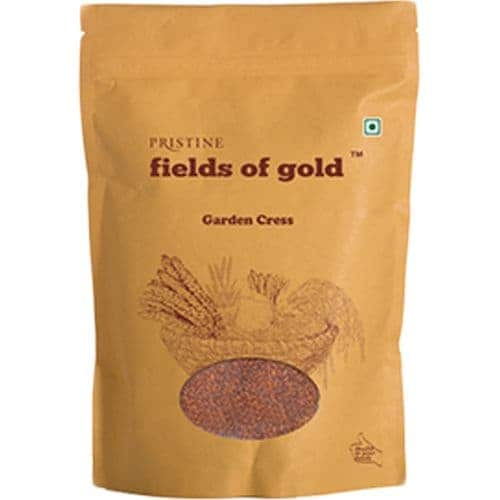 PRISTINE Fields Of Gold Garden Cress 100 Gm