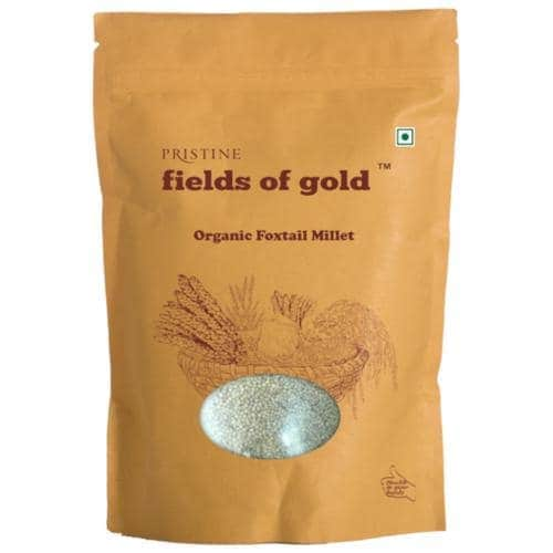 PRISTINE Fields Of Gold Organic Foxtail Millet 500 Gm