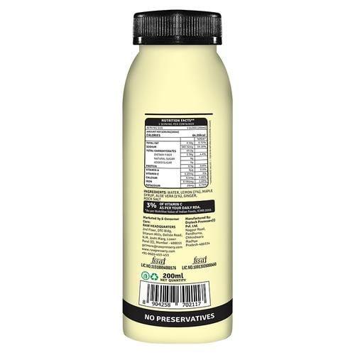 Raw Pressery 100% Aloe Vera Lemonade Natural Cold Pressed Juice