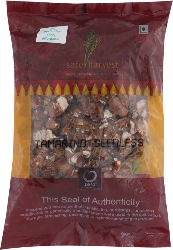 Safe Harvest Seedless Tamarind 500 Gm