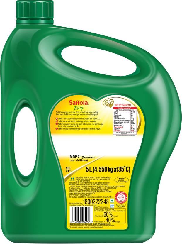 Saffola Tasty Blended Oil 5 Ltr
