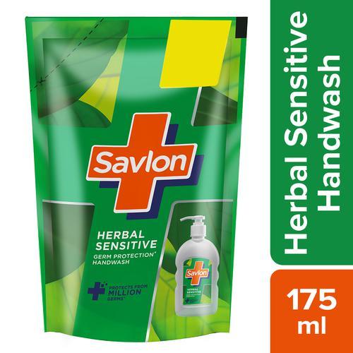 Savlon Herbal Sensitive Handwash Refill 175 Ml