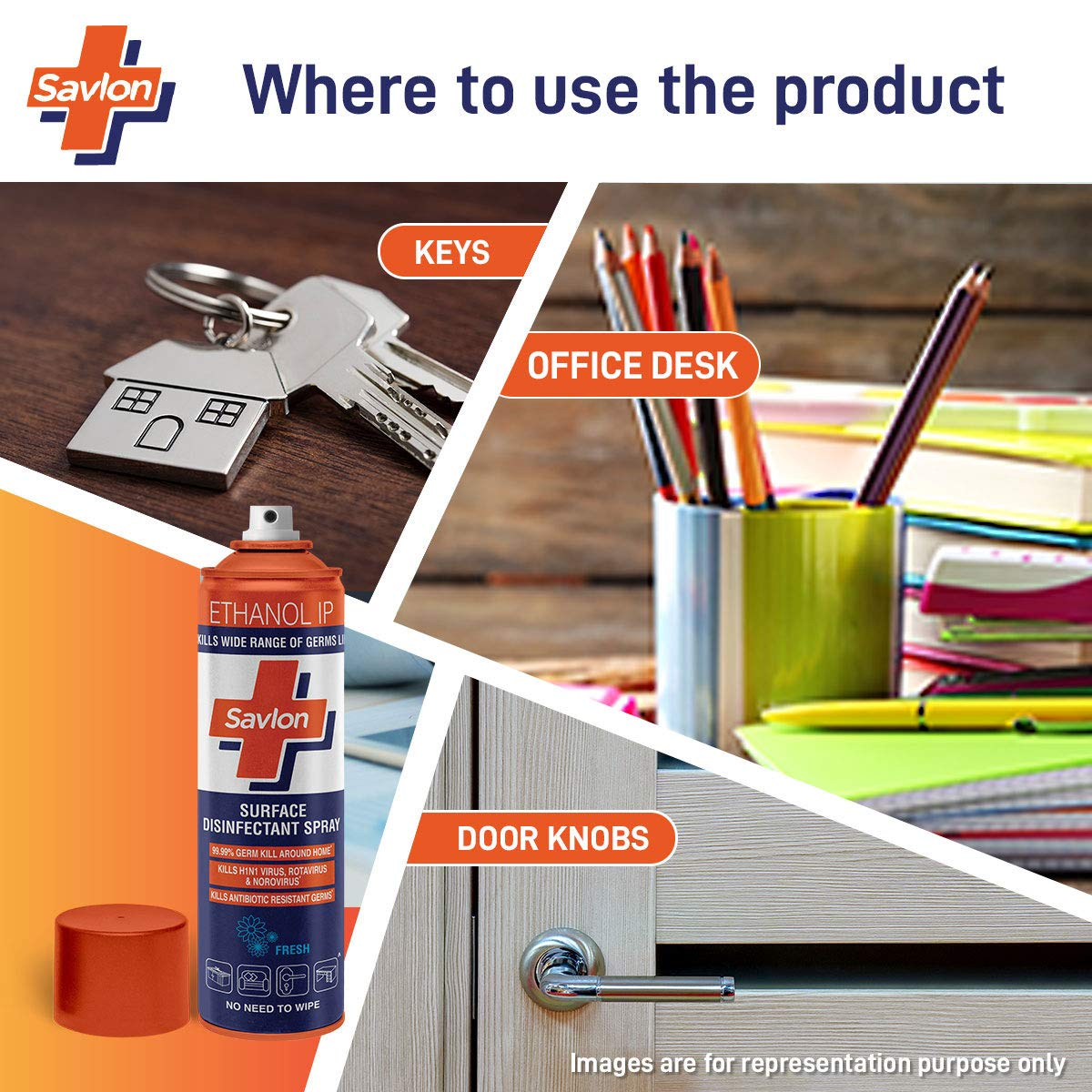 Savlon Surface Disinfectant Spray(170gm)