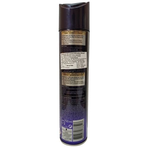 Schwarzkopf Taft Ultimate Hair Lacquer Ultimately Strong 6 250 Ml