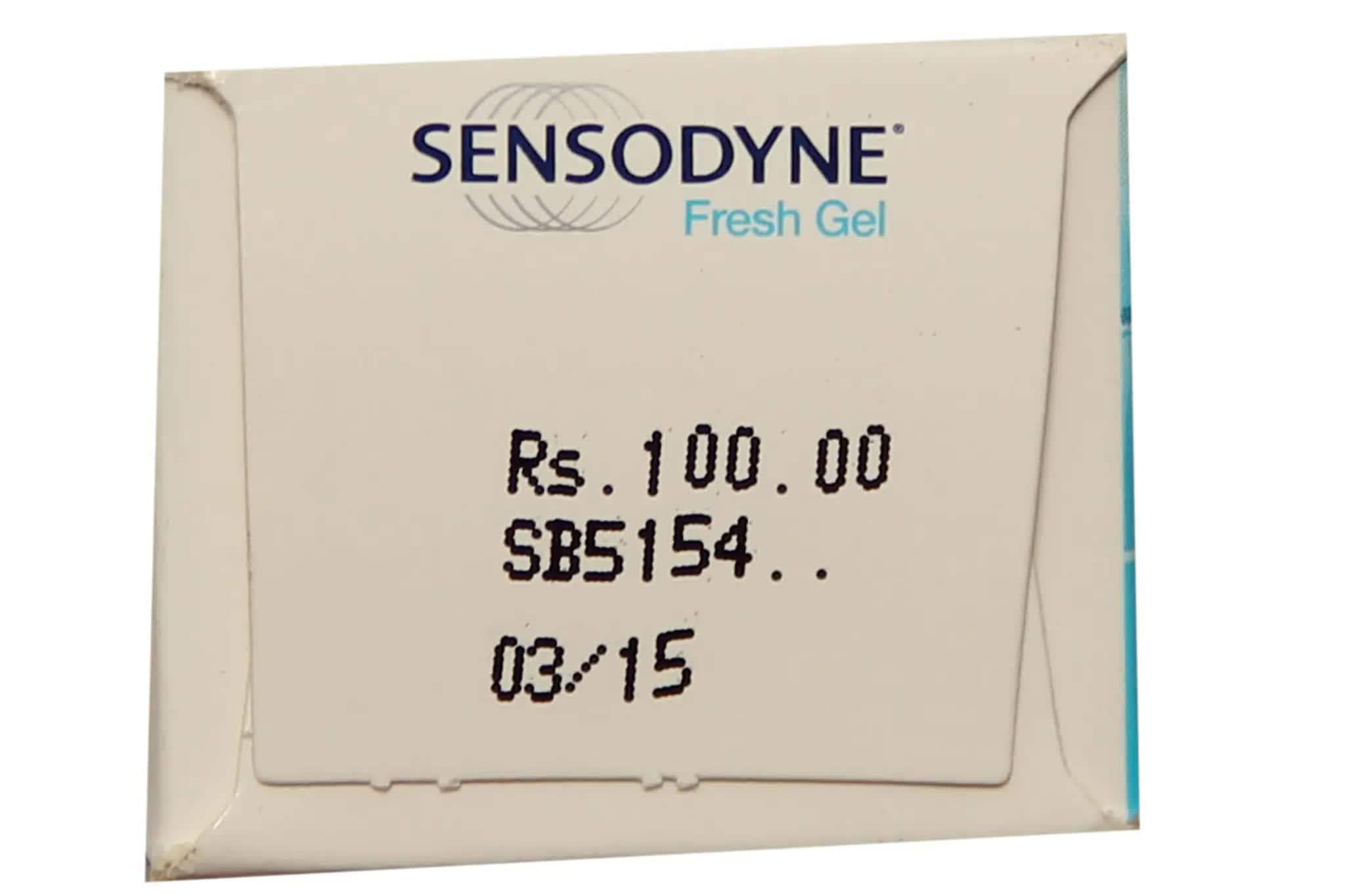 Sensodyne Fresh Gel Toothpaste 75 Gm