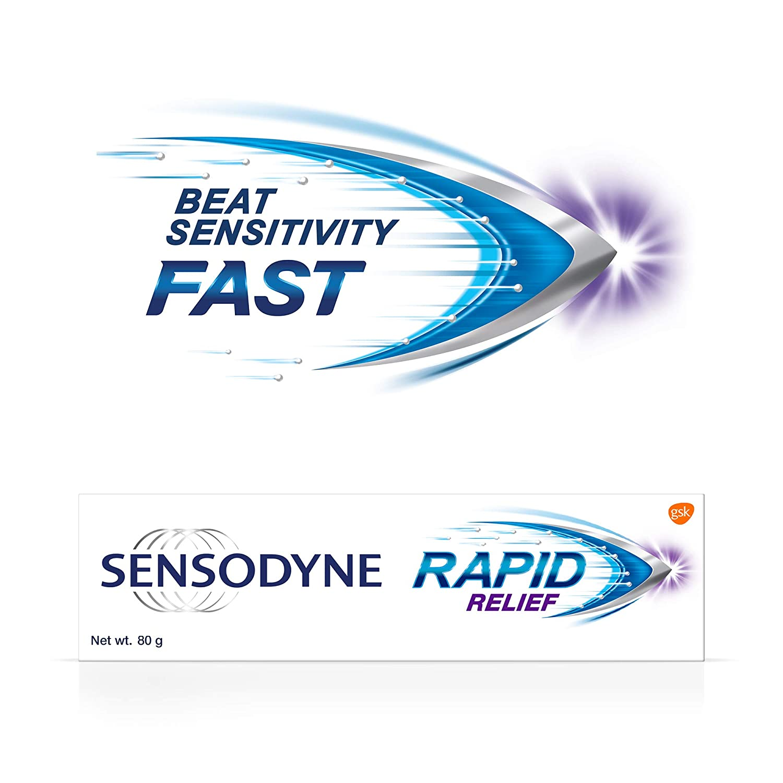 Sensodyne Rapid Relief Toothpaste 80 Gm