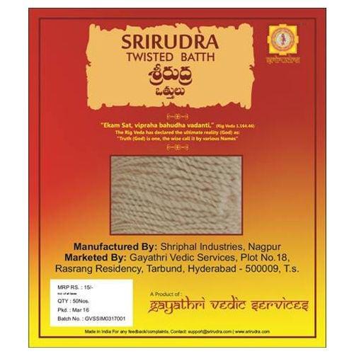 SriRudra Batthi Twisted 80 Pc