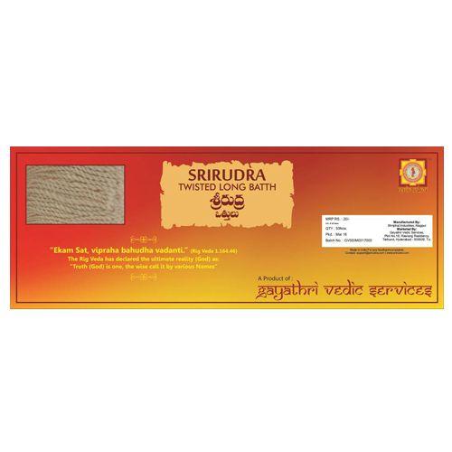 SriRudra Batthi Twisted Long 50 Pc