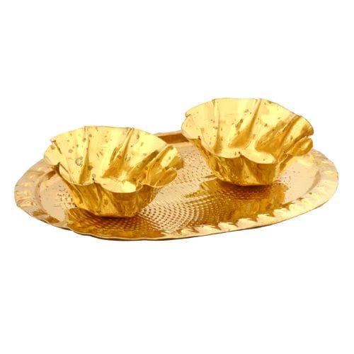 SriRudra Oval Brass Plate 100 Gm