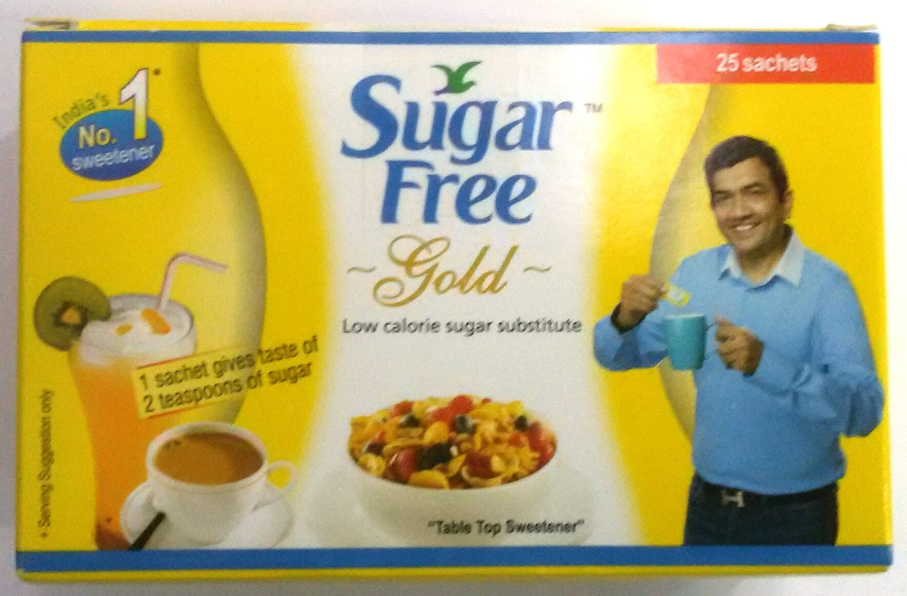 Sugar Free Gold Powder