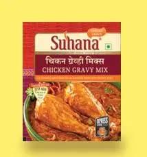 Suhana Chicken Gravy Mix (Box) 80 Gm