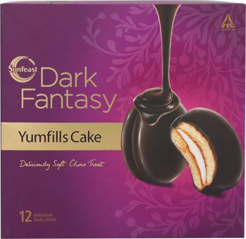 Sunfeast Dark Fantasy Yumfills Cake 253 Gm