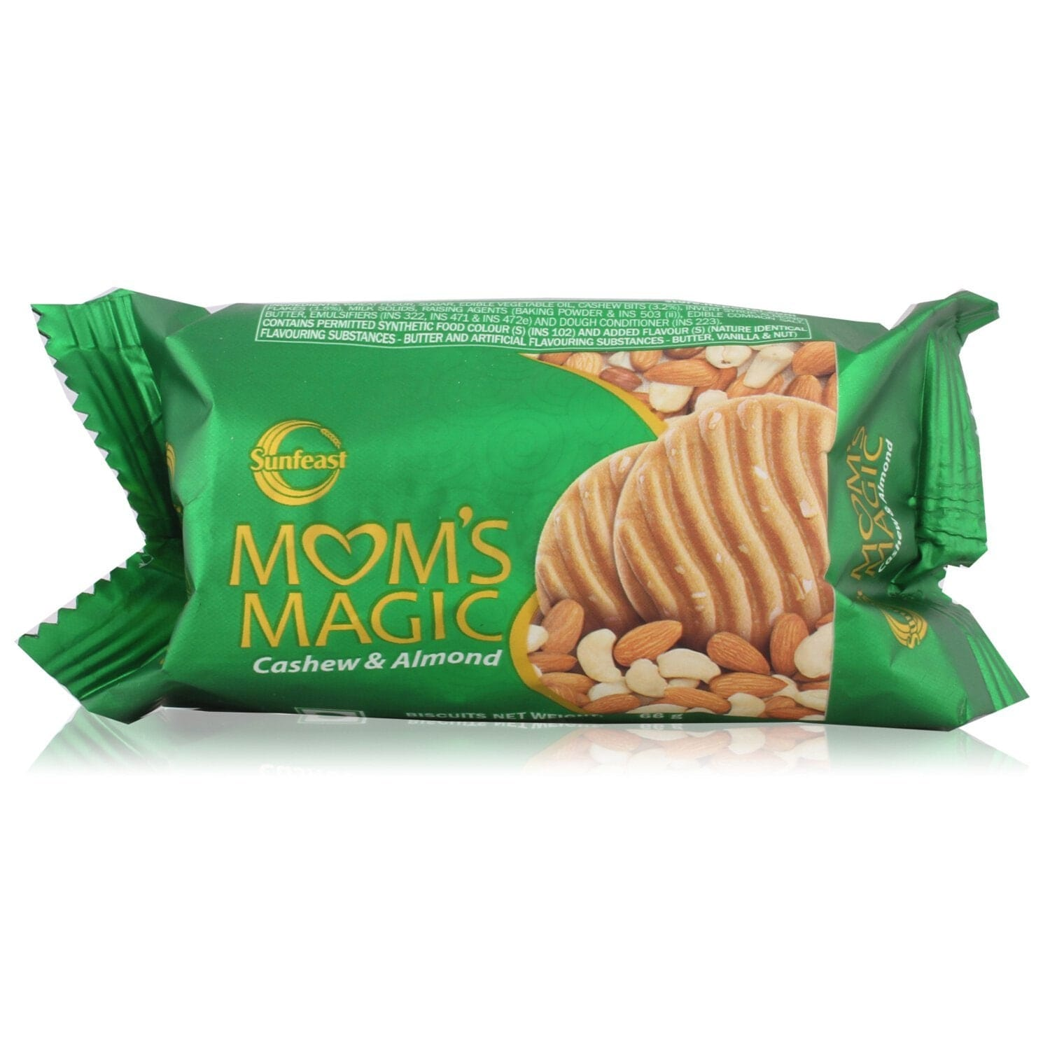 Sunfeast Moms Magic Cashew & Almond Biscuits 58 Gm