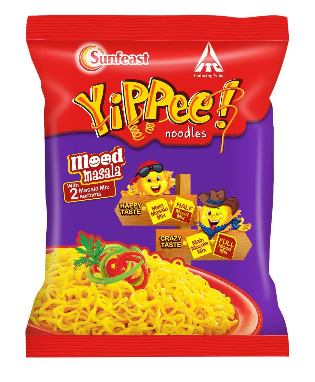 Sunfeast YiPPee Mood Masala Noodles 70 Gm