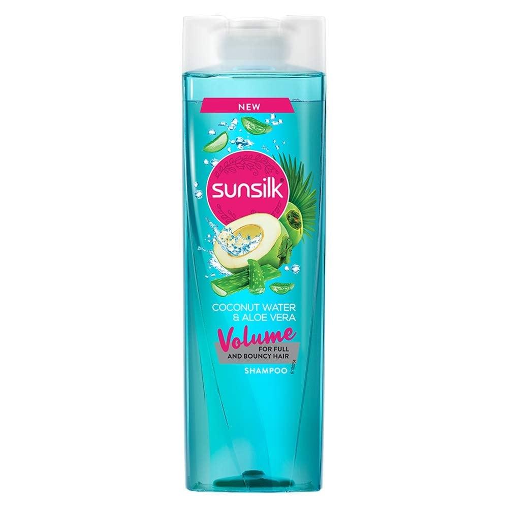 Sunsilk Coconut Water & Aloe Vera Volume Hair Shampoo 195 Ml