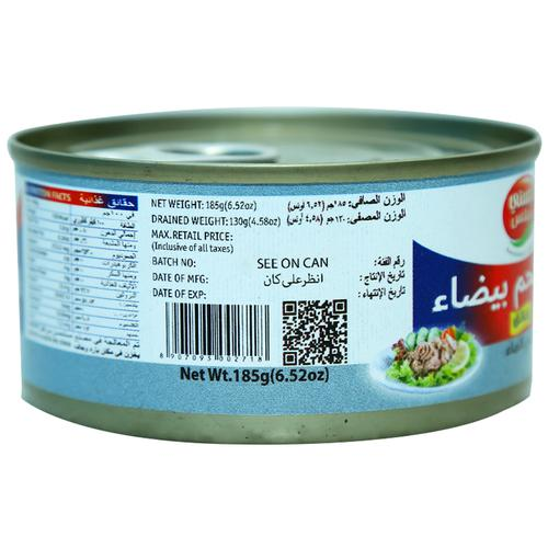 Tasty Nibbles White Meat Tuna Flakes In Water (Can) 185 Gm