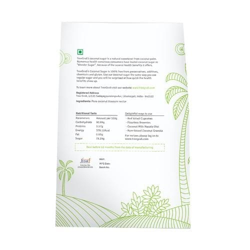 Tree Grab Natural Coconut Sugar 250 Gm
