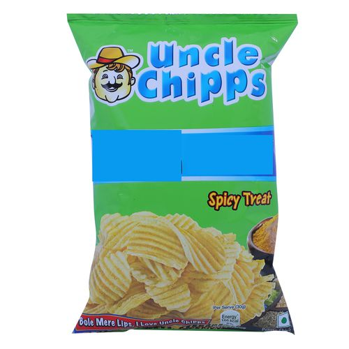 Uncle Chips Spicy Treat Chips (Pouch) 30 Gm