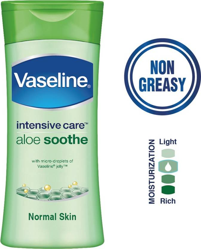 Vaseline Intensive Care Aloe Soothe Body Lotion 100 Ml