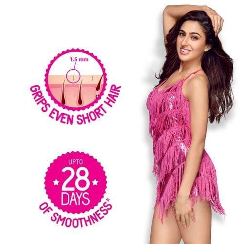 Veet Hair Removal Waxing Strips Kit Dry Skin - 20 Strips 8 Pc