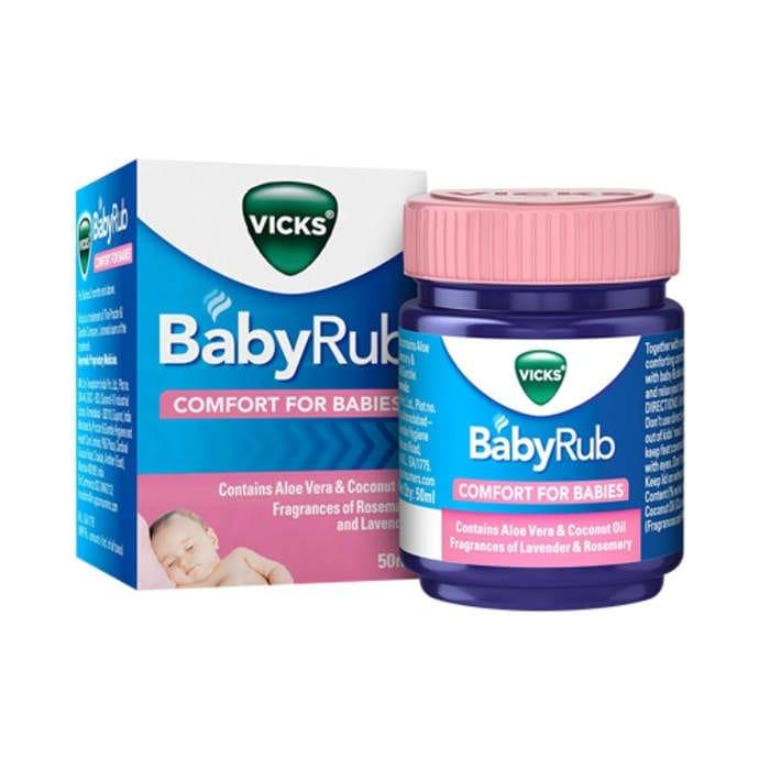 Vicks BabyRub Ointment 50 Ml