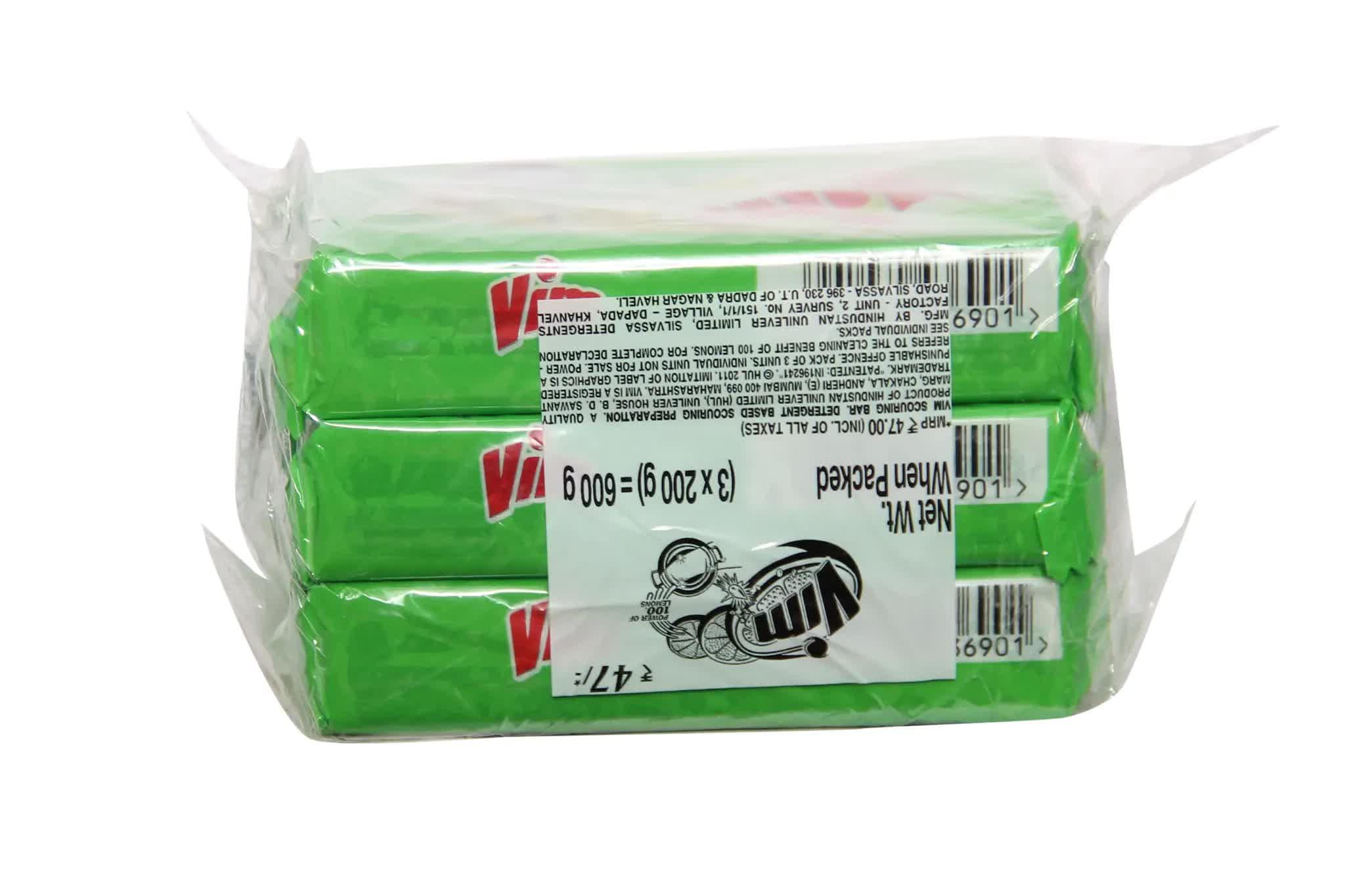 Vim Bar (Pack Of 3) 200 Gm
