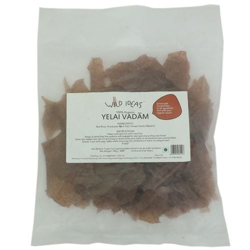 Wild Ideas Organic Yellai Vadaams Red Rice 100 Gm