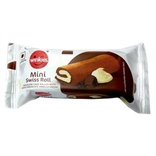 Winkies Swiss Mini Chocolate Roll