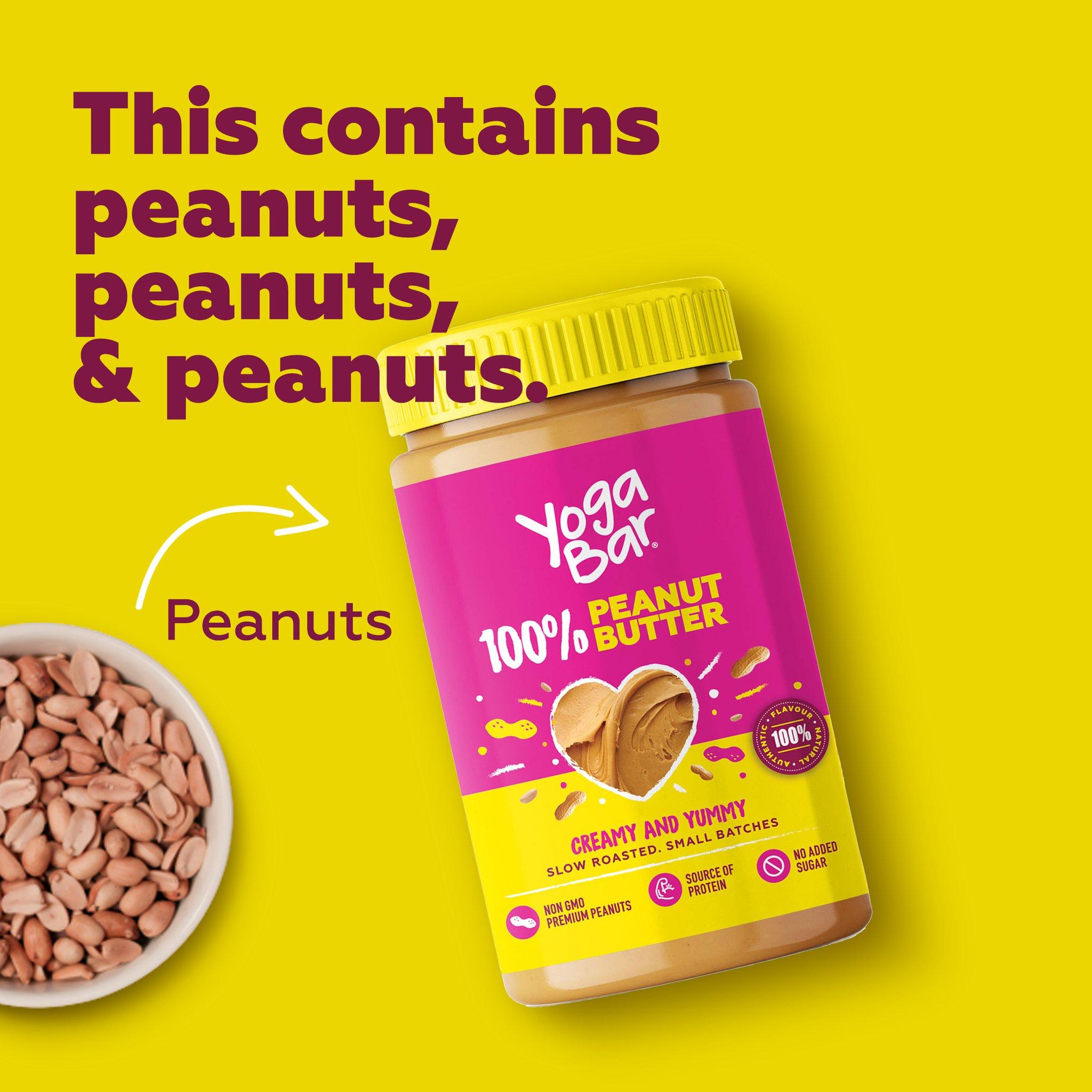 Yoga Bar 100% Pure Peanut Butter