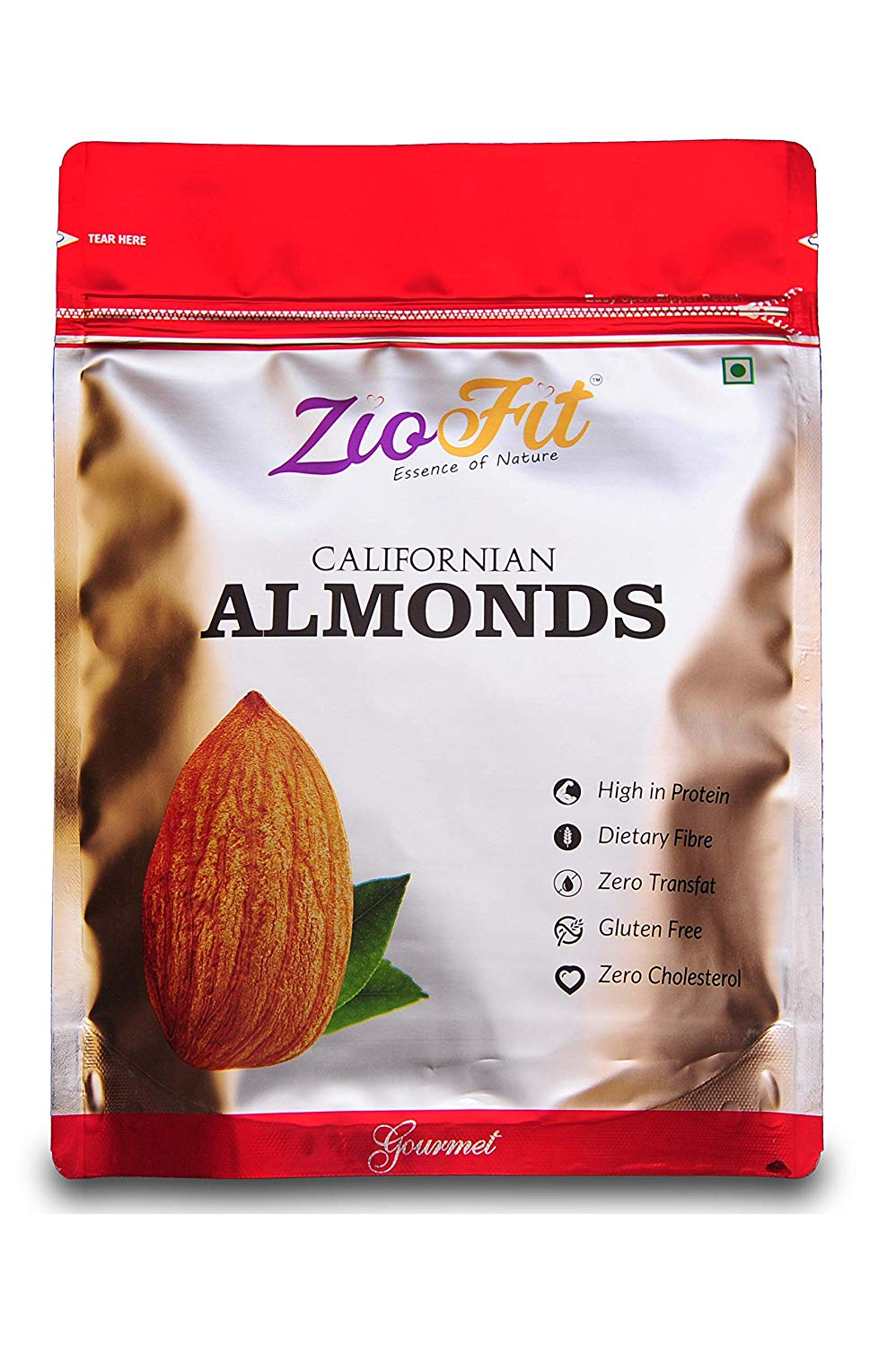 Ziofit Californian Almonds 200 Gm