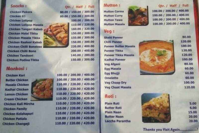 Happy Non Veg, , Haridwar - Food Menu Card - Justdial