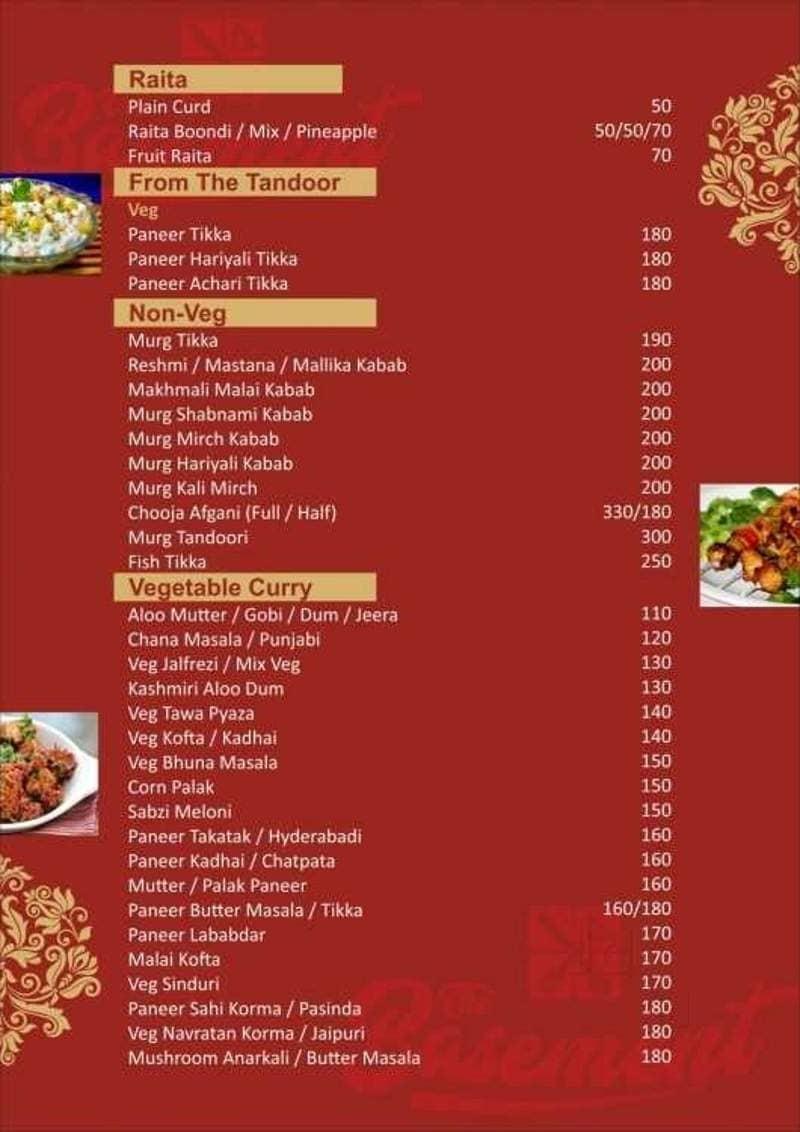 the basement restaurant sonari jamshedpur food menu card justdial