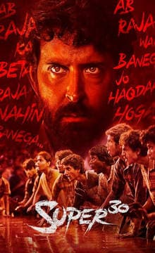 Super 30 Hindi Movie Tickets Booking Online - Reviews, Cast
