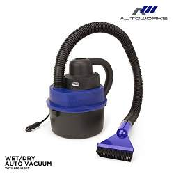 AutoWorks Handheld Car Vacuum Cleaner with LED