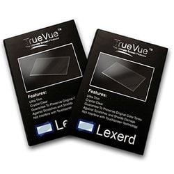Lexerd Compatible with Sony HDR-FX7 TrueVue Anti-Glare Digital Camcorder Screen Protector