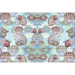 Multicolor 20 x 30 Carolines Treasures BB2497CMT Christmas Presents Between Friends West Siberian Laika Spitz Kitchen or Bath Mat