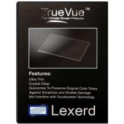 Compatible with AMX NXT-CV7 TrueVue Anti-Glare POS Screen Protector Lexerd