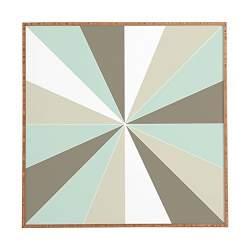 Flourish Allover Medium Framed Wall Art Deny Designs Stephanie Corfee 20 x 20