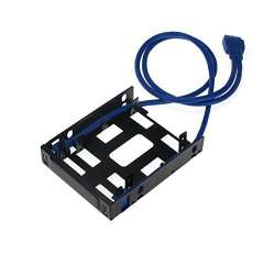 SLD Black Box EVNSL0508MS-0020 CAT5E SHLD CBL BLACK 20 FEET 24 AWG